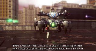 Final Fantasy Type 0: el entorno y la jugabilidad (vídeo)