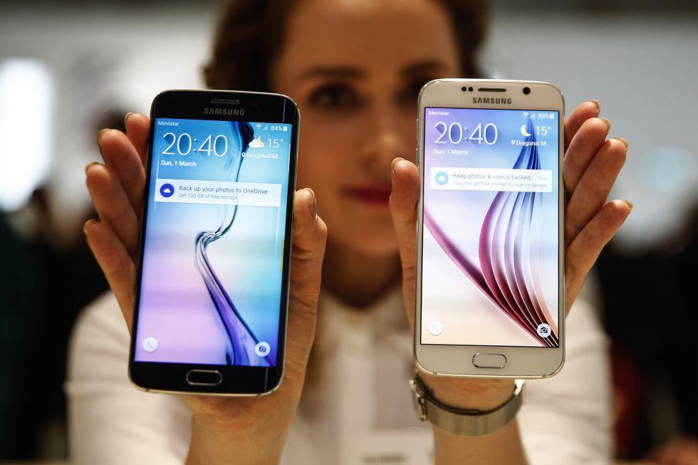Samsung presenta los nuevos Galaxy S6 y el Edge S6 - AS.com