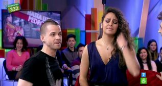 David Muñoz sorprende en directo a Cristina Pedroche