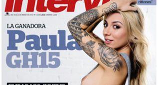 La ganadora de GH15, Paula González, portada de Interviú