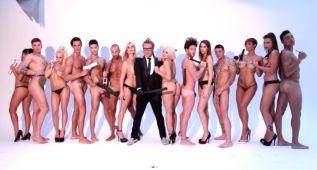 Making of de 14 concursantes de realitys desnudos junto a Torito