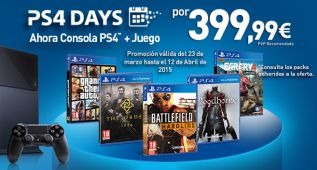 Vuelven los PS4 Days a PlayStation