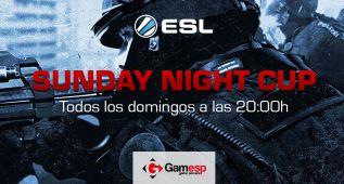 ESL: Gamesp, patrocinador de Sunday Night Cup de CS:GO