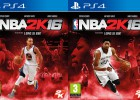 NBA 2K16: Stephen Curry, James Harden y Anthony Davis, portada