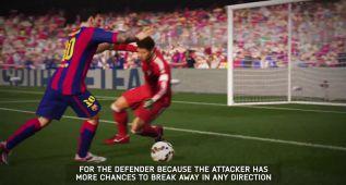 FIFA 16: Messi muestra el sistema de regates sin balón (vídeo)