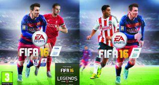 FIFA 16: Jordan Henderson y Marco Fabián, en la portada