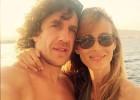 Carles Puyol y Vanesa Lorenzo esperan segunda hija en enero