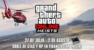 GTA Online: doble de RP y GTA$ en Financiación inicial