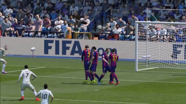 La increíble falta de rabona de Cristiano Ronaldo al Barça
