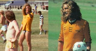 Robert Plant, voz de Led Zeppelin y fan del Wolverhampton