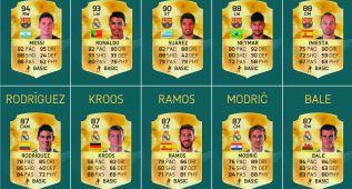 FIFA 16: Estos son los 20 mejores jugadores de la Liga española