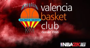 NBA 2K16 incluye al Valencia Basket en los equipos Euroliga