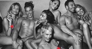 Irina, al desnudo para el especial de Dsectionmagazine