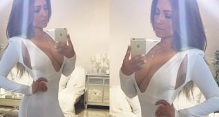 La doble de Jennifer Lopez, al desnudo en Instagram