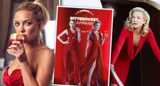 Kate Hudson, 'amarga y dulce' será el rostro Campari 2016
