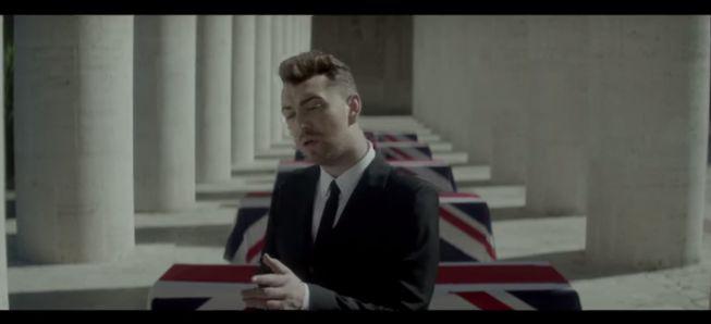 Sam Smith presenta el videoclip del tema oficial de 'Spectre'
