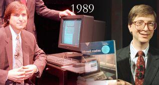 Un viaje a la tecnología que utilizábamos en 1989