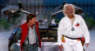 El Regreso al Futuro en el plató de Jimmy Kimmel Live