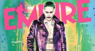 El 'Joker' de Jared Leto en portada de la revista Empire