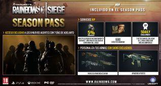 Rainbow Six Siege: contenidos del Season Pass (vídeo)