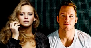 Jennifer Lawrence hizo la escena de sexo con Chris Pratt borracha
