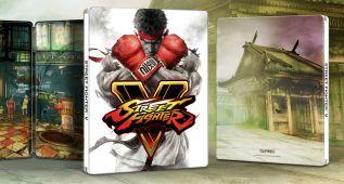 Street Fighter V tendrá edición Day One en caja metálica