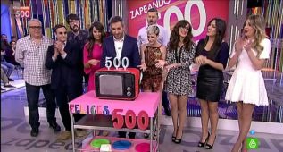 Zapeando celebra su programa 500 con videoclip y tatuaje