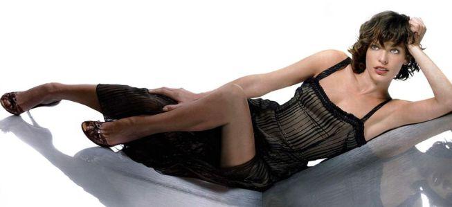 La sensual Mila Jovovich: el rostro más bello del cine