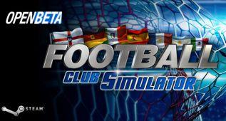Football Club Simulator busca beta testers