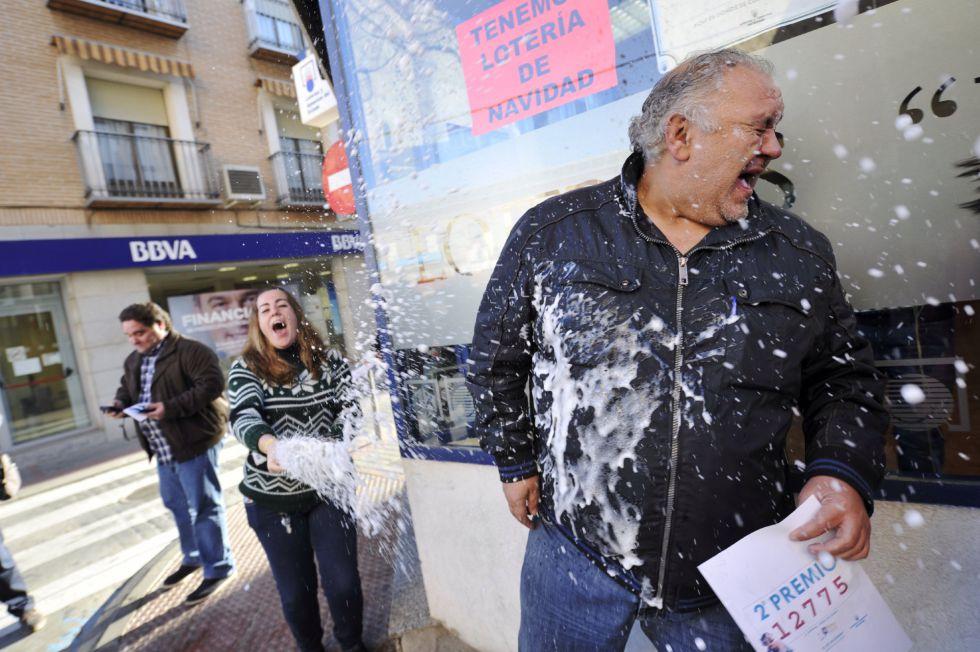 cobrar premios de loteria: