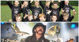 El día que Lemmy Kilmister patrocinó un equipo de futbol