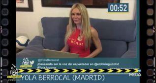 Yola Berrocal quiere sustituir a Irene Junquera en El Chiringuito