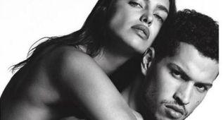 Irina Shayk 'al desnudo' en la tórrida campaña de Givenchy