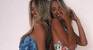 Las guapas modelos gemelas que 'dieron calabazas' a Neymar