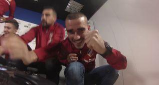 Griezmann también es un crack jugando al FIFA 16 (vídeo)