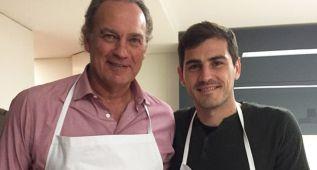 Primera imagen de Bertín Osborne con Iker Casillas