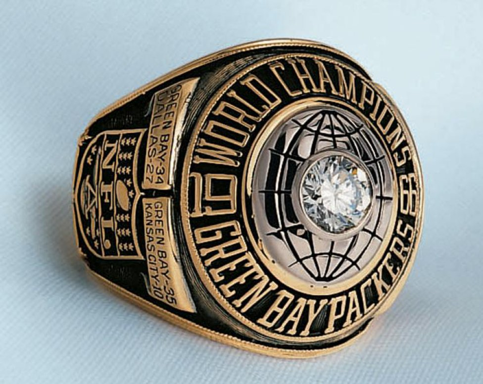 Super Bowl history: all the championship rings