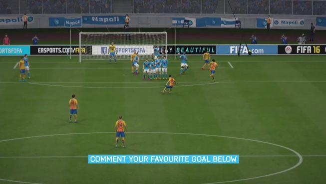 FIFA 16: el misil de Cristiano vs la falta ensayada del Barça