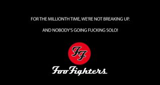 Foo Fighters niegan su separación