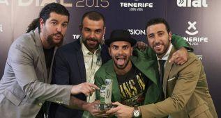 Los premiados en la XX edición de los Premios Cadena Dial