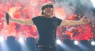 AC/DC cancela 10 conciertos por el riesgo de que Brian Johnson se quede sordo