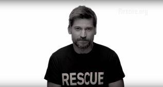 Los actores de 'Juego de Tronos' ayudan a los refugiados