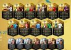 FIFA 16: Ibra e Iniesta lideran el equipo de la semana 27