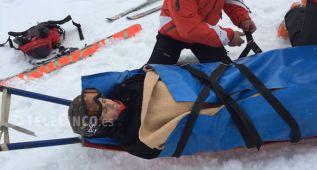 Mercedes Milá, ingresada tras un accidente de esquí en Italia