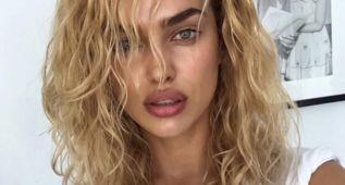 Irina Shayk enseña el cambio radical de su look en Instagram