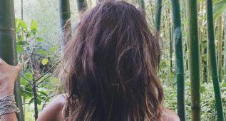 Halle Berry debuta con un desnudo de espaldas en Twitter e Instagram
