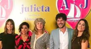 """Almodovar, el gran ausente en el estreno de su película """"Julieta"""""""