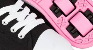 Las zapatillas con ruedines podrían ser perjudiciales