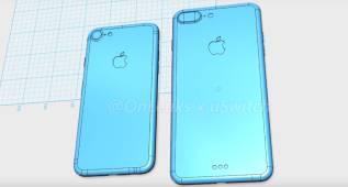 Así serán los iPhone 7 y iPhone 7 Plus según los planos filtrados