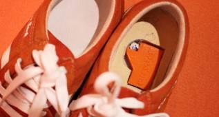 Conecta tu smartphone a estos zapatos y nunca más te perderás